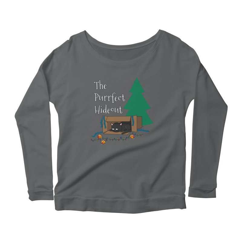 The Purrfect Hideout Women's Longsleeve T-Shirt by KhoCreations' Artist Shop