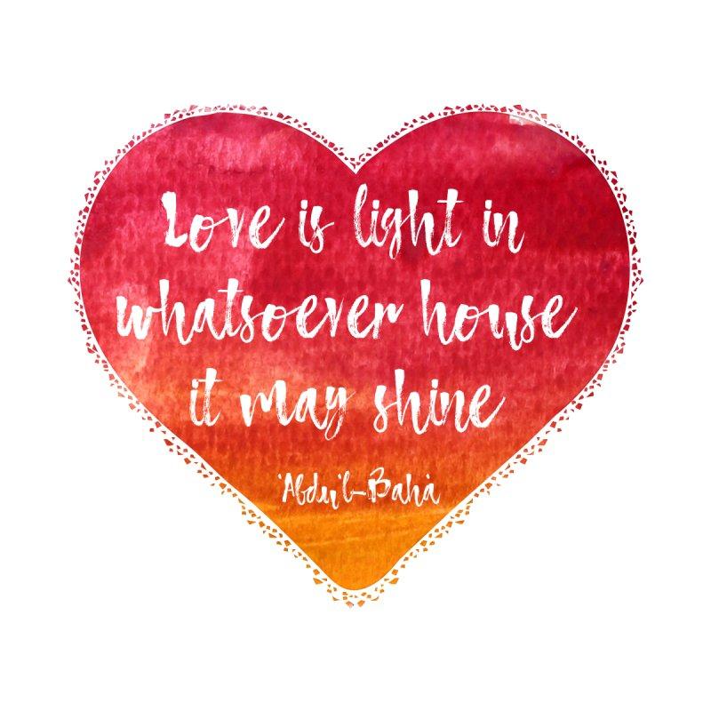 Love is Men's T-Shirt by KhoCreations' Artist Shop