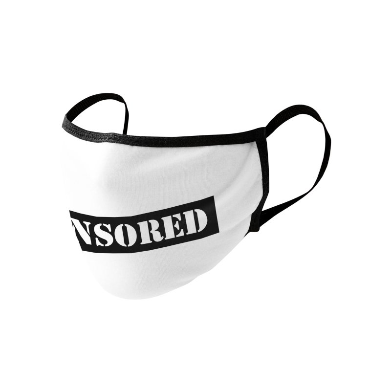 Censored Accessories Face Mask by KidLogic Industries