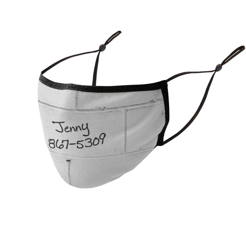 Jenny, Jenny who can I turn to? Accessories Face Mask by KidLogic Industries