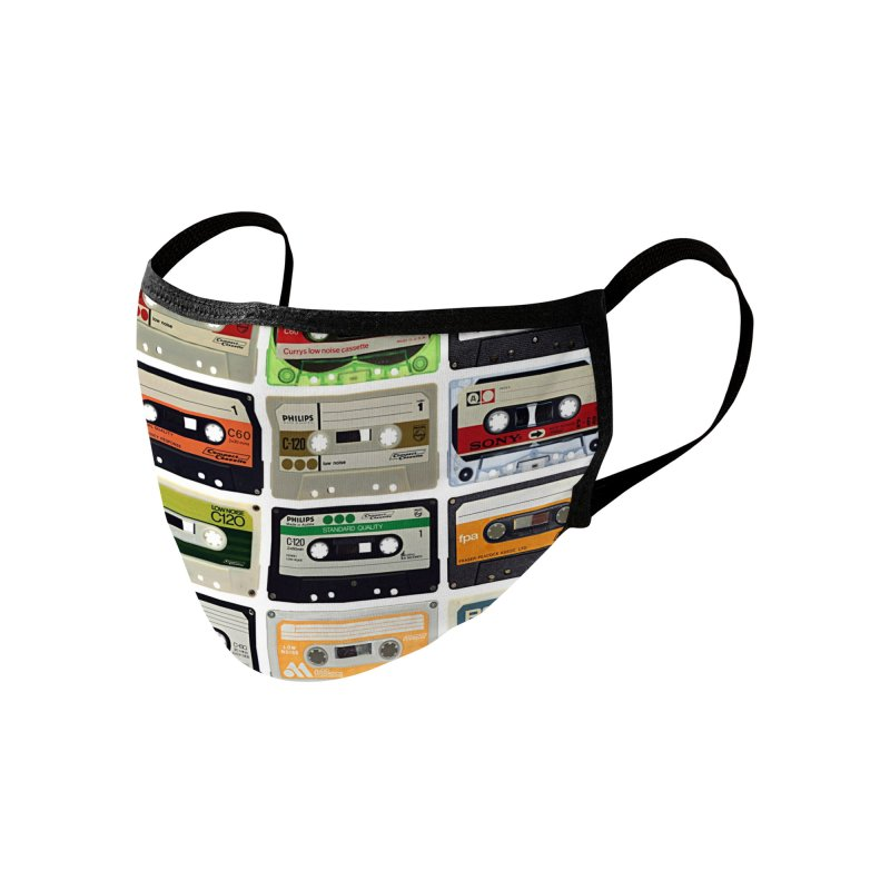Audio Cassettes Accessories Face Mask by KidLogic Industries