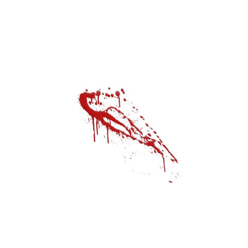 Blood Splatter #2 Accessories Face Mask by KidLogic Industries
