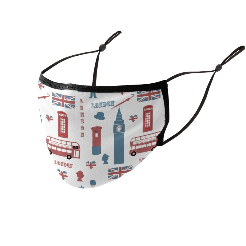 London Calling! Accessories Face Mask by KidLogic Industries