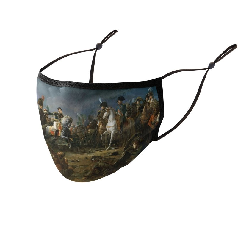 Napolean at the Battle of Austerlitz Accessories Face Mask by KidLogic Industries