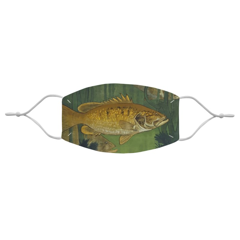 Fish swimming in the lake Accessories Face Mask by KidLogic Industries