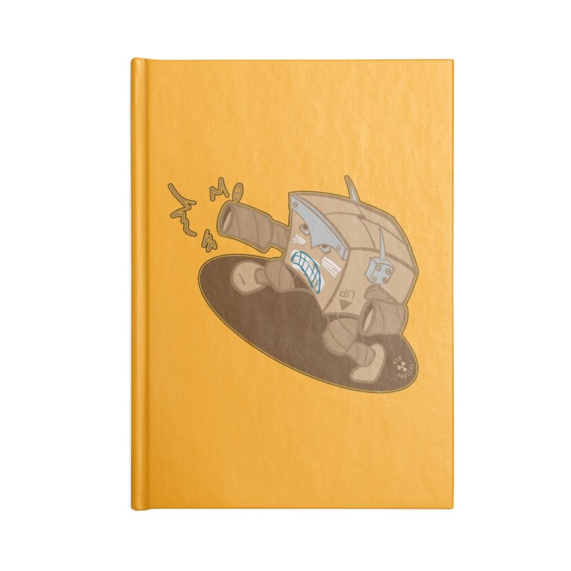 The Boxy Rebellion in Blank Journal Notebook by Kid Radical