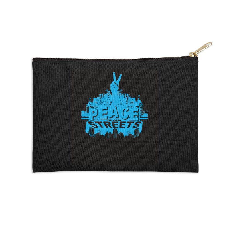 P.I.O.S. (Peace in Our Streets) Accessories Zip Pouch by Kid Radical