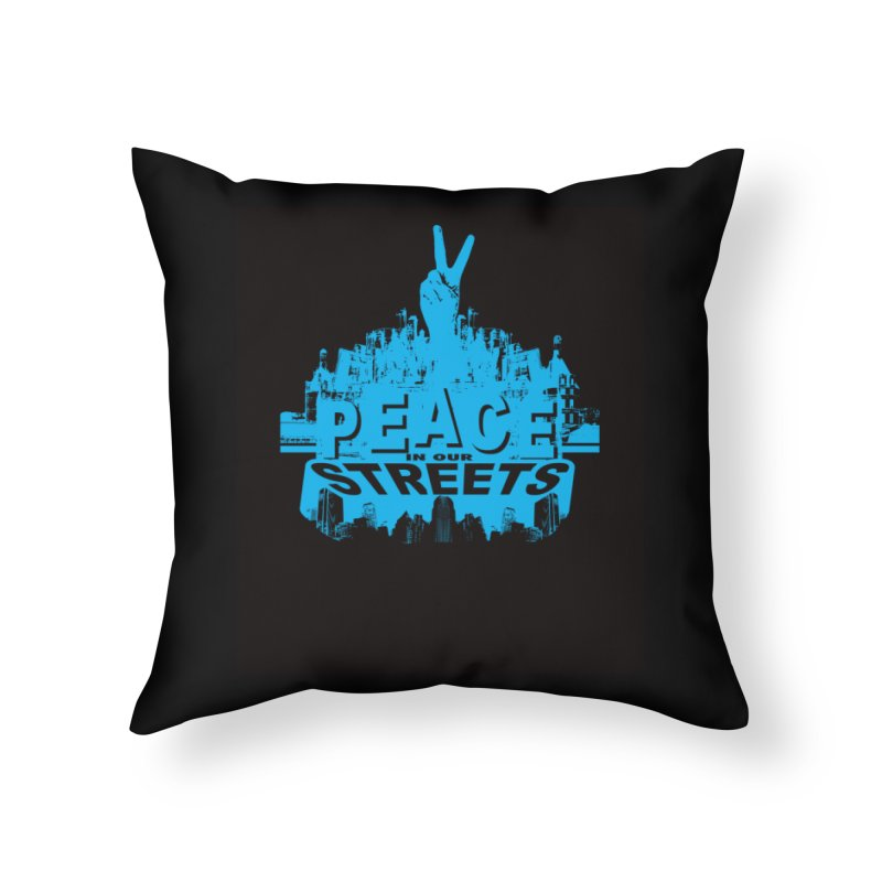 P.I.O.S. Home Throw Pillow by Kid Radical