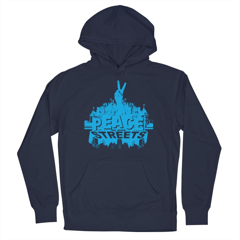 P.I.O.S. (Peace in Our Streets) Men's Pullover Hoody by Kid Radical