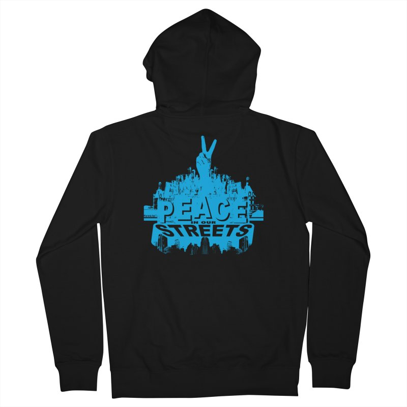 P.I.O.S. (Peace in Our Streets) Women's Zip-Up Hoody by Kid Radical