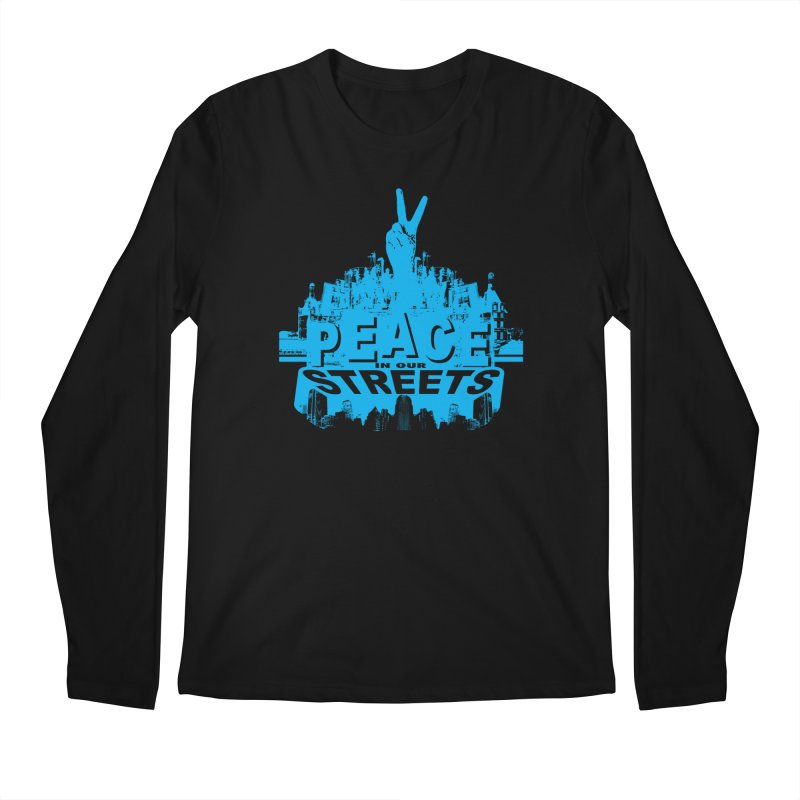 P.I.O.S. (Peace in Our Streets) Men's Longsleeve T-Shirt by Kid Radical