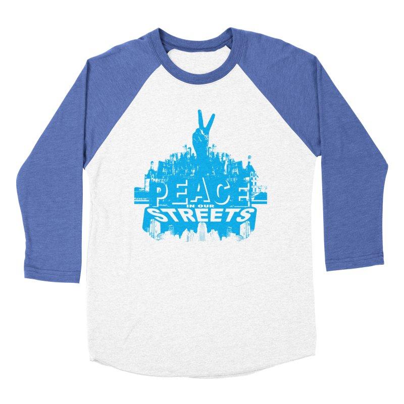 P.I.O.S. Men's Baseball Triblend T-Shirt by Kid Radical
