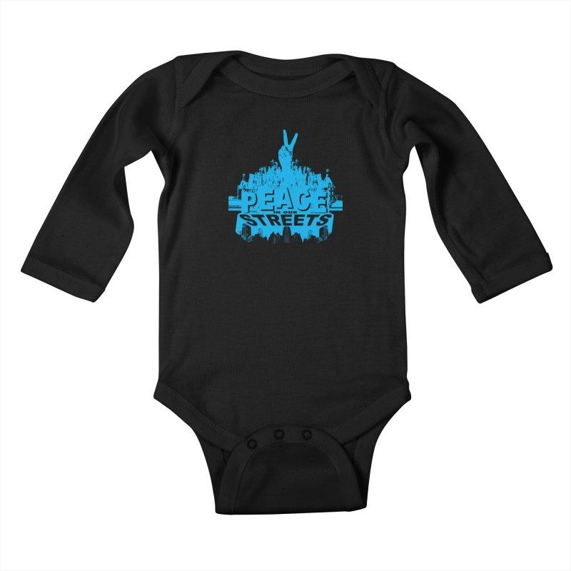 P.I.O.S. Kids Baby Longsleeve Bodysuit by Kid Radical