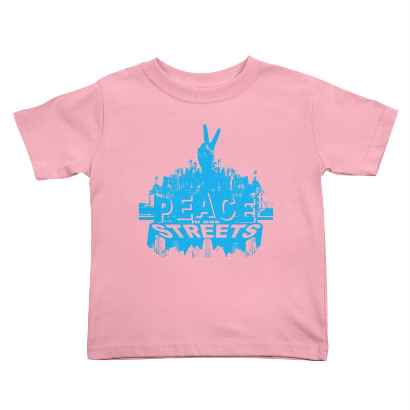 P.I.O.S. (Peace in Our Streets) Kids Toddler T-Shirt by Kid Radical