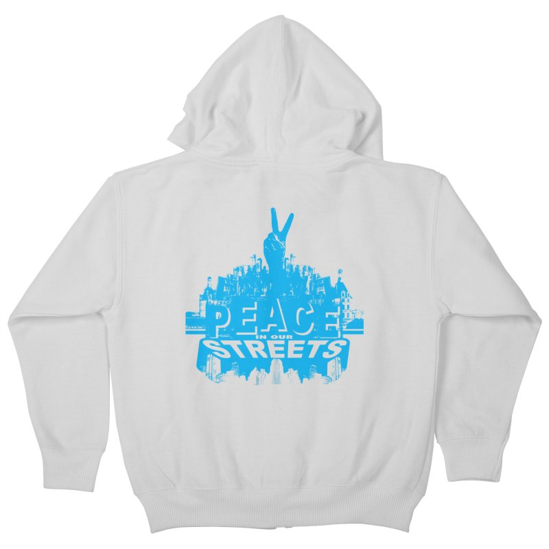 P.I.O.S. (Peace in Our Streets) Kids Zip-Up Hoody by Kid Radical