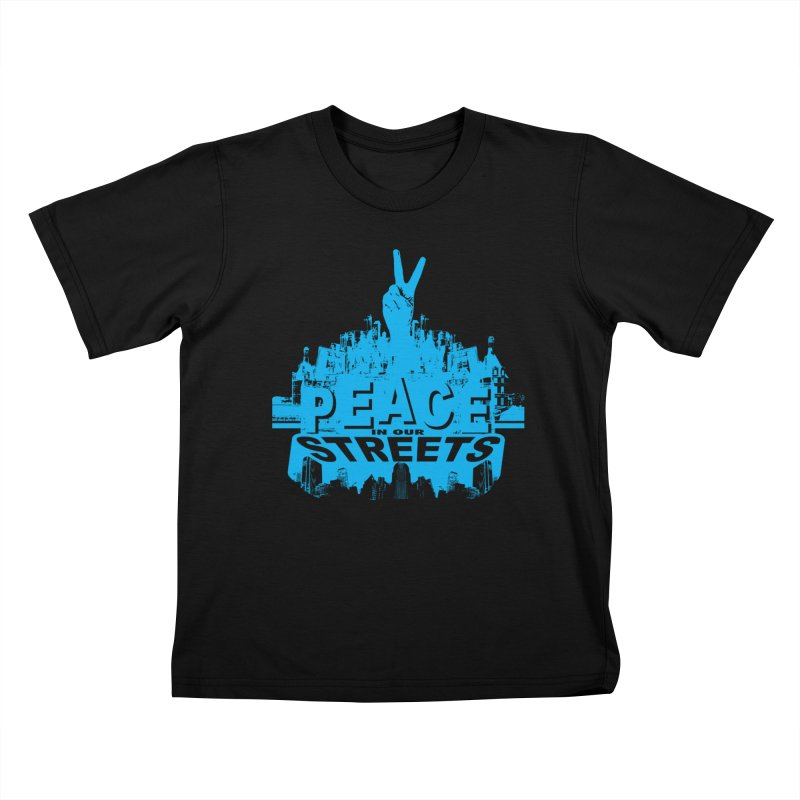 P.I.O.S. (Peace in Our Streets) Kids T-Shirt by Kid Radical