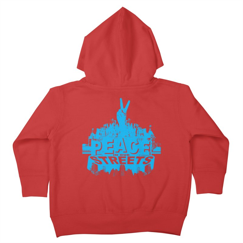P.I.O.S. (Peace in Our Streets) Kids Toddler Zip-Up Hoody by Kid Radical