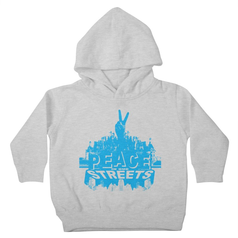 P.I.O.S. (Peace in Our Streets) Kids Toddler Pullover Hoody by Kid Radical