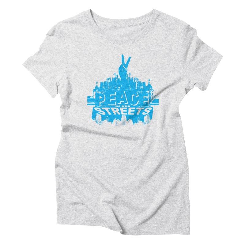 P.I.O.S. Women's Triblend T-shirt by Kid Radical