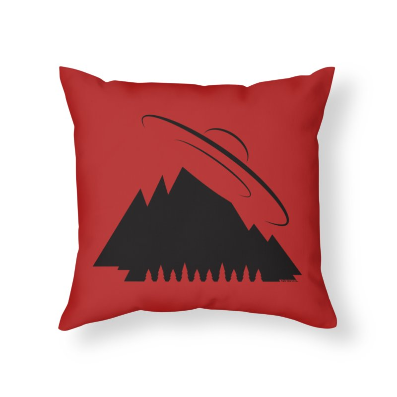 Out There Home Throw Pillow by Kid Radical