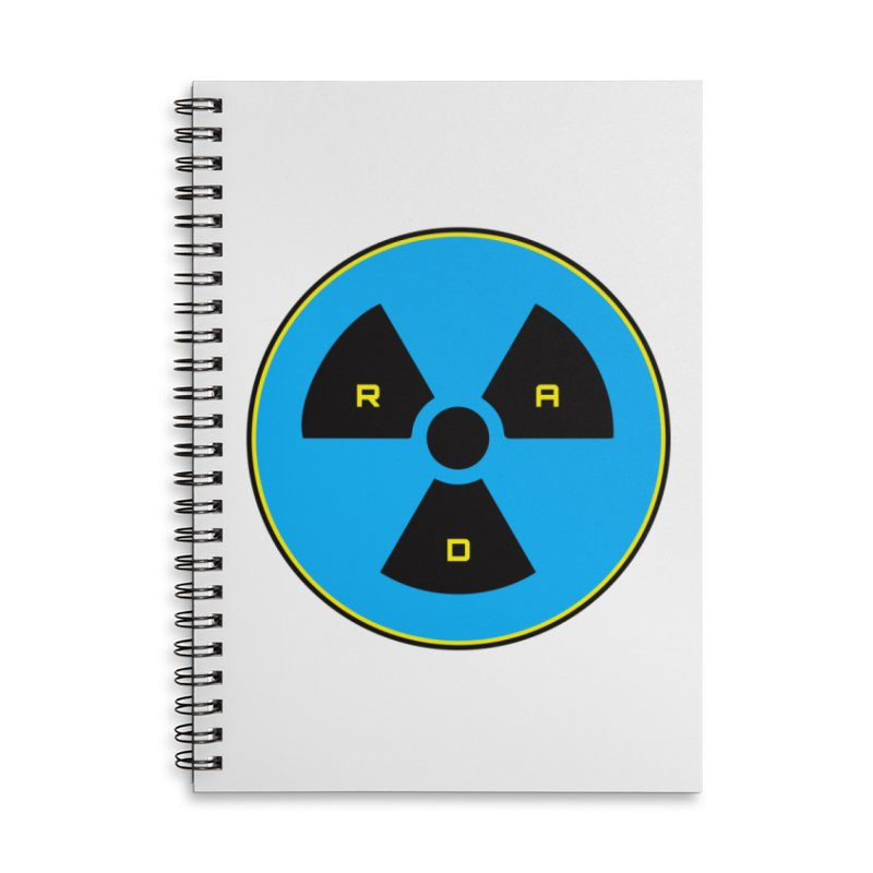 RAD in Lined Spiral Notebook by Kid Radical