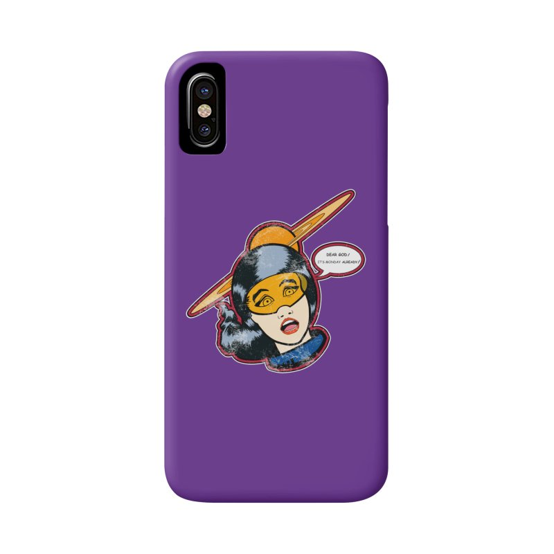 I Hate Mondays Accessories Phone Case by Kid Radical