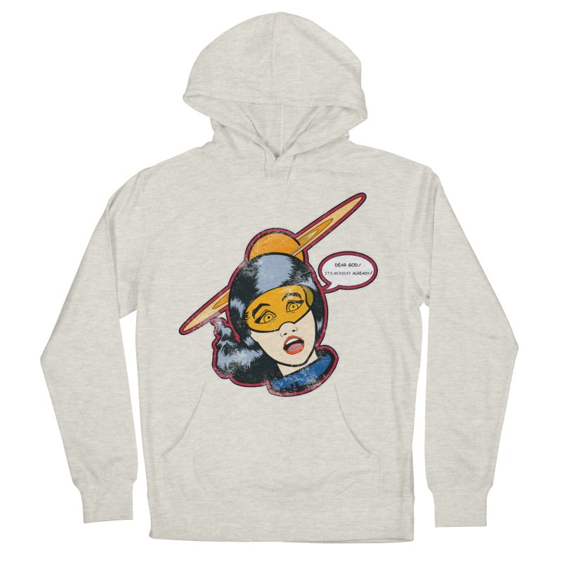 I Hate Mondays Men's Pullover Hoody by Kid Radical