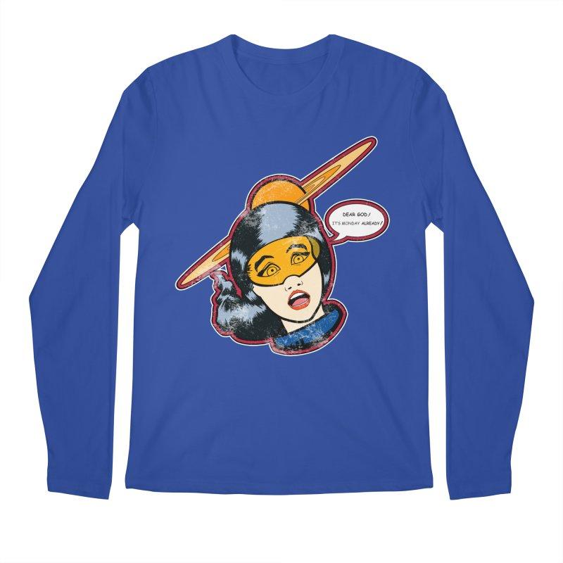 I Hate Mondays Men's Longsleeve T-Shirt by Kid Radical