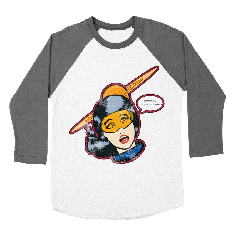 I Hate Mondays Men's Baseball Triblend T-Shirt by Kid Radical