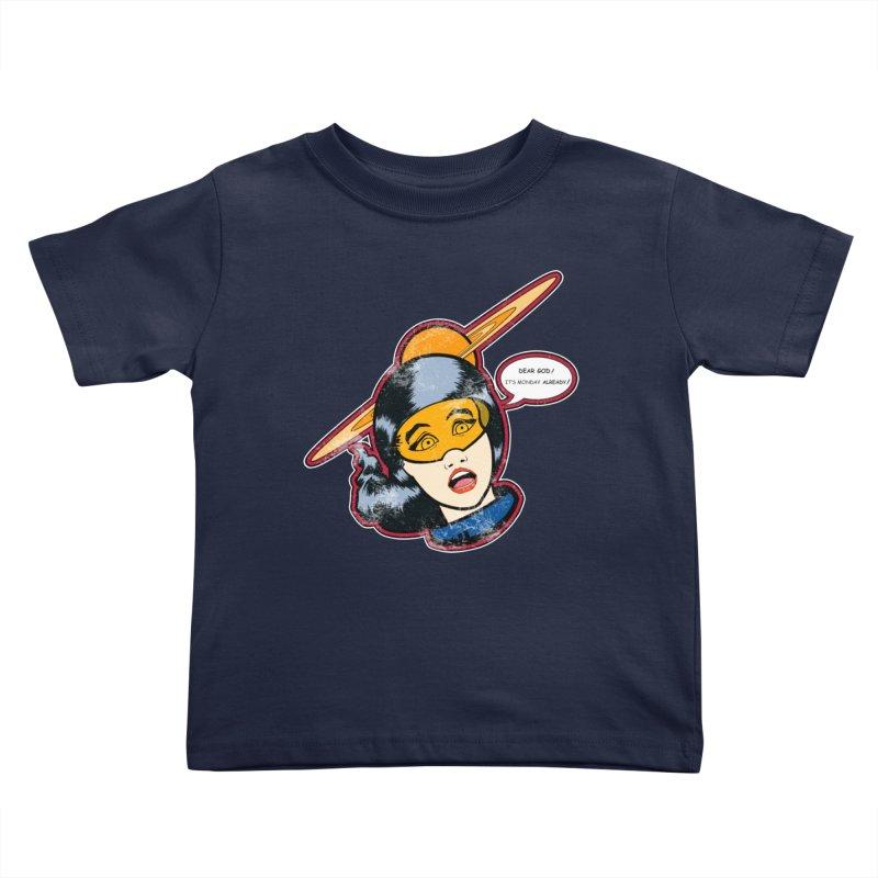 I Hate Mondays Kids Toddler T-Shirt by Kid Radical