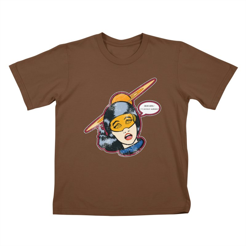 I Hate Mondays Kids T-Shirt by Kid Radical