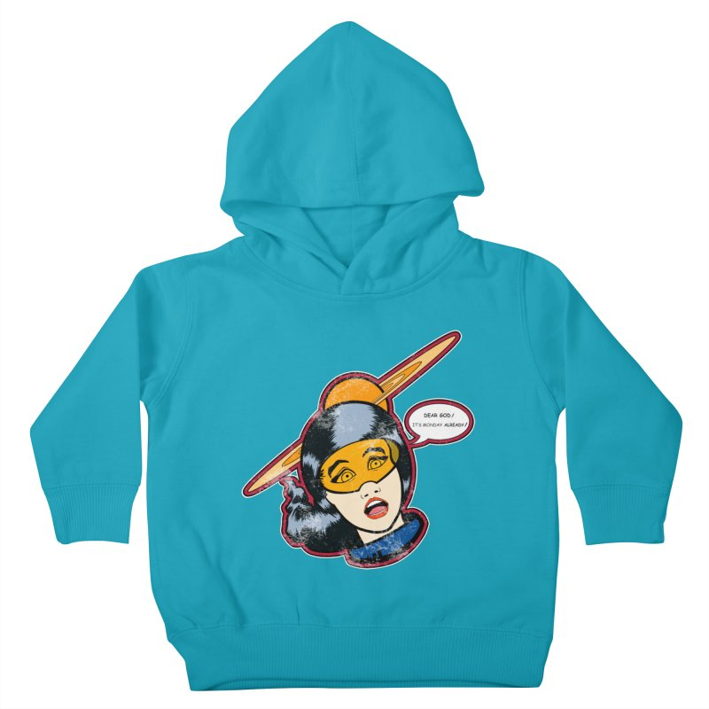 I Hate Mondays Kids Toddler Pullover Hoody by Kid Radical