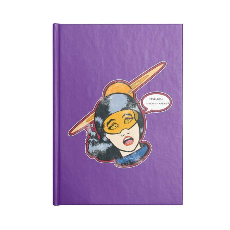 I Hate Mondays in Lined Journal Notebook by Kid Radical