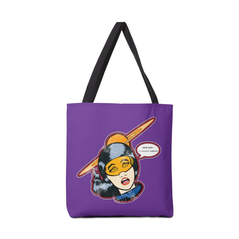 I Hate Mondays Accessories Bag by Kid Radical