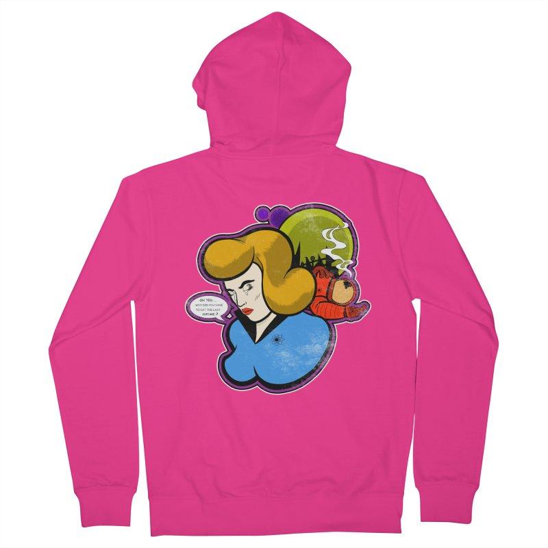 F-U Betty! Men's Zip-Up Hoody by Kid Radical