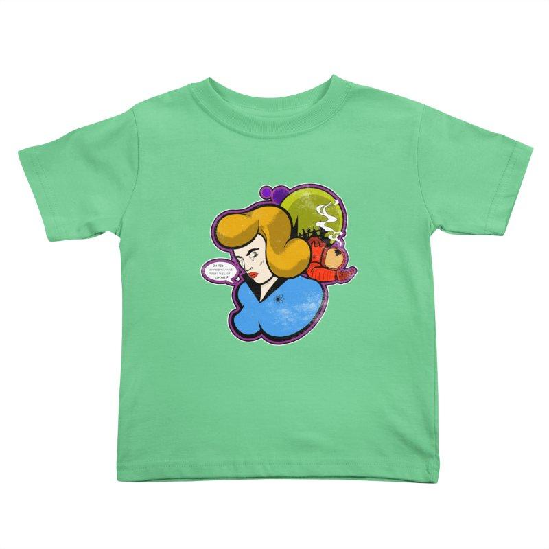 F-U Betty! Kids Toddler T-Shirt by Kid Radical