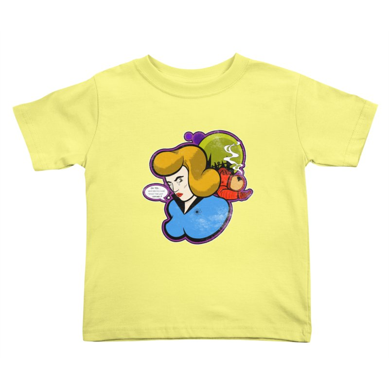 F-U Betty! Kids Toddler T-Shirt by Kid Radical
