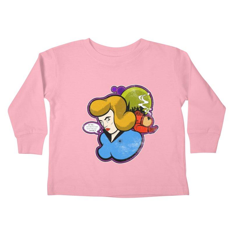 F-U Betty! Kids Toddler Longsleeve T-Shirt by Kid Radical