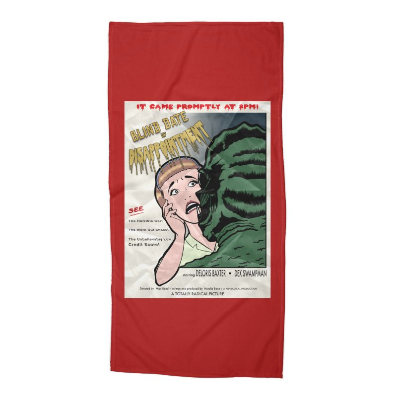 Oh, No He Didn't! Accessories Beach Towel by Kid Radical