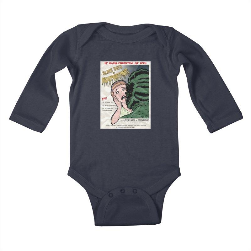 Oh, No He Didn't! Kids Baby Longsleeve Bodysuit by Kid Radical