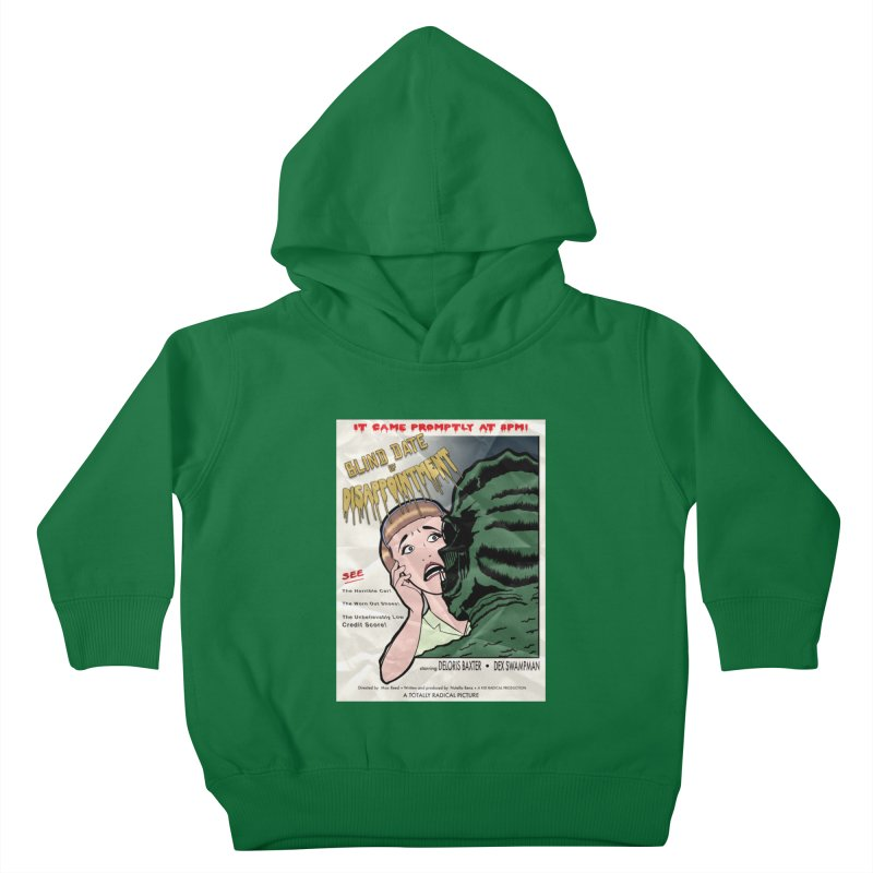 Oh, No He Didn't! Kids Toddler Pullover Hoody by Kid Radical