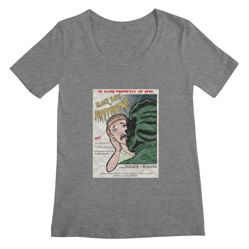 Oh, No He Didn't! Women's Scoopneck by Kid Radical