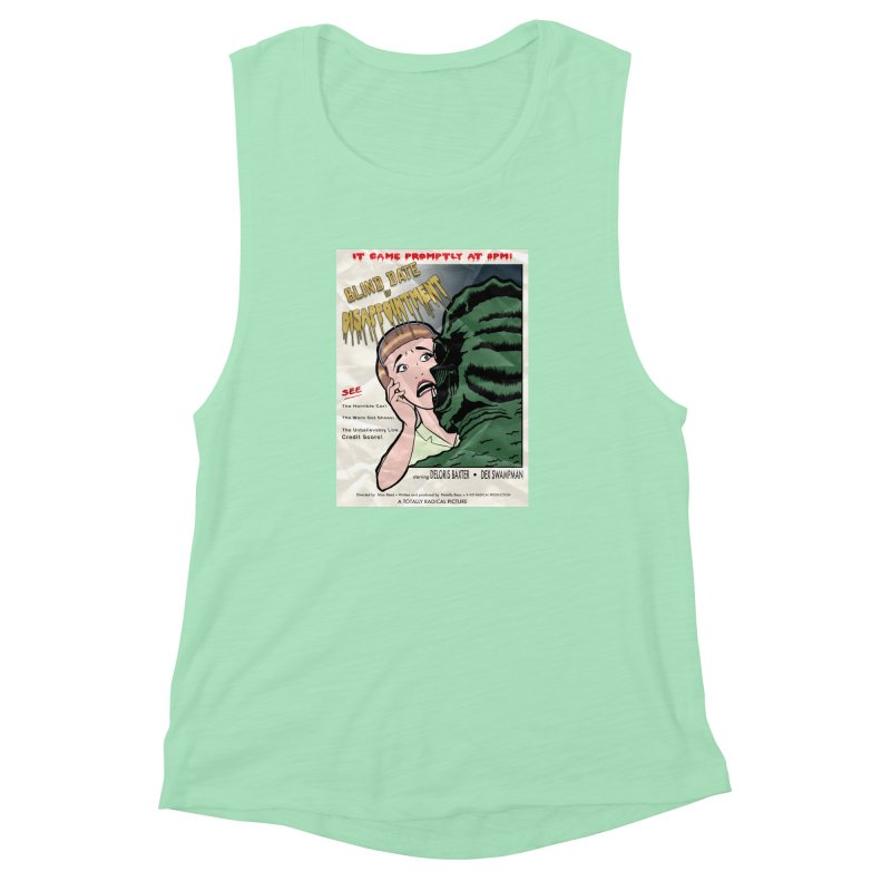 Oh, No He Didn't! Women's Muscle Tank by Kid Radical