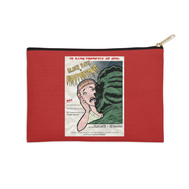 Oh, No He Didn't! Accessories Zip Pouch by Kid Radical