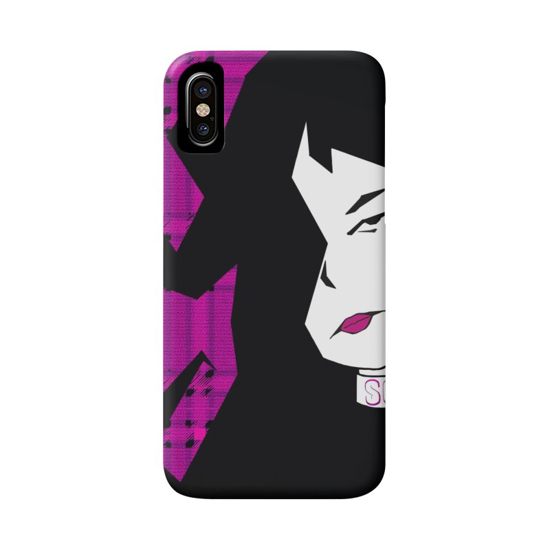 So what? Punk Girl Accessories Phone Case by Kid Radical
