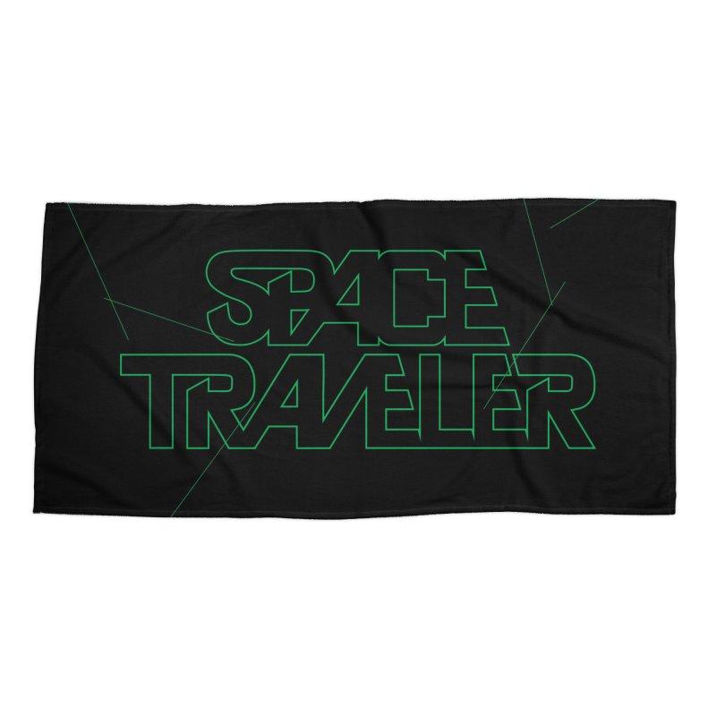 Space Traveler Accessories Beach Towel by Kid Radical
