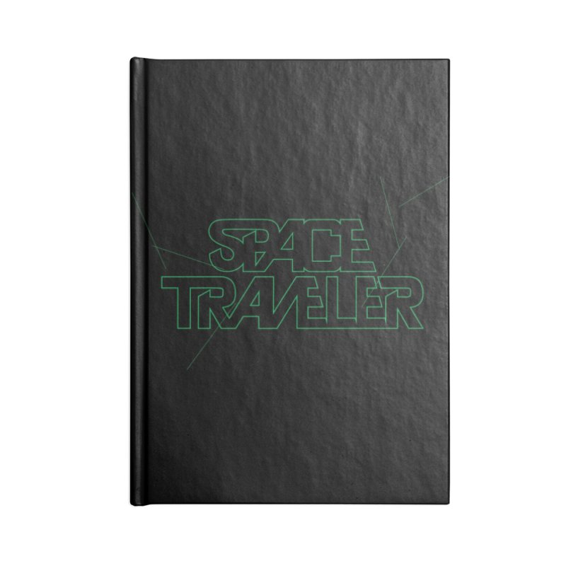 Space Traveler Accessories Notebook by Kid Radical