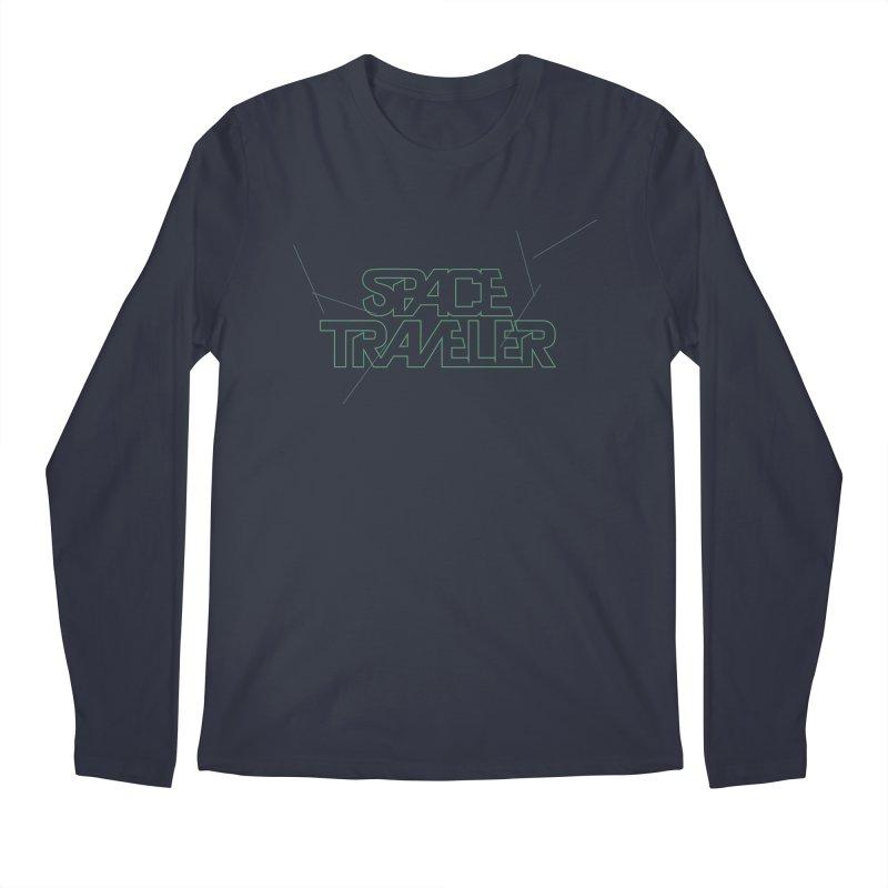Space Traveler Men's Longsleeve T-Shirt by Kid Radical