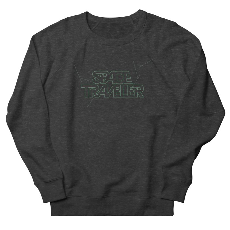 Space Traveler Men's Sweatshirt by Kid Radical
