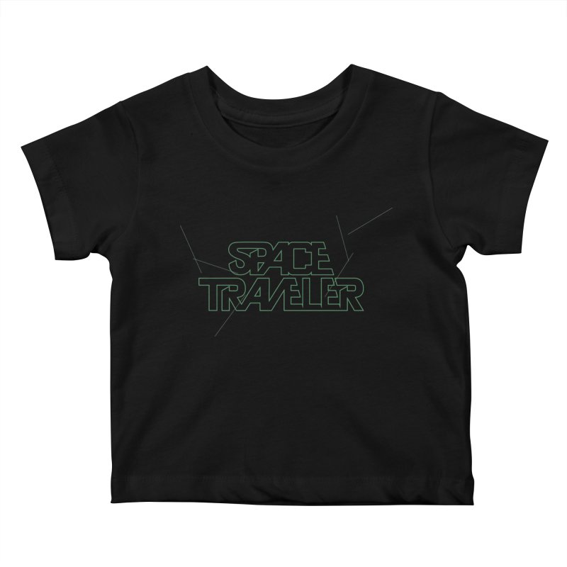 Space Traveler Kids Baby T-Shirt by Kid Radical